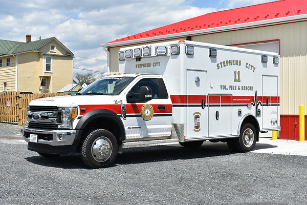 Stephens City, VA 11-3 is this 2016 Ford F450 4x4 / 2017 Wheeled Coach.