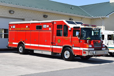 Millwood's Rescue 21 as photographed in May of 2018.