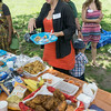 Yes that's Jody AND her fried chicken. Woo hoo!