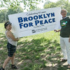 Our Green Party friends holding the BFP banner.