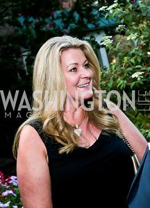 Norma Ramsey. Photo by Tony Powell. Garden Reception for Patrick Jephson. Holland House. September 11, 2014