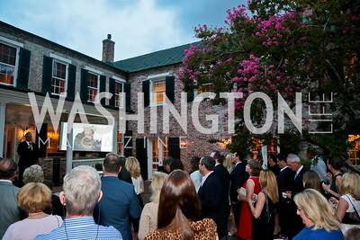 Photo by Tony Powell. Garden Reception for Patrick Jephson. Holland House. September 11, 2014