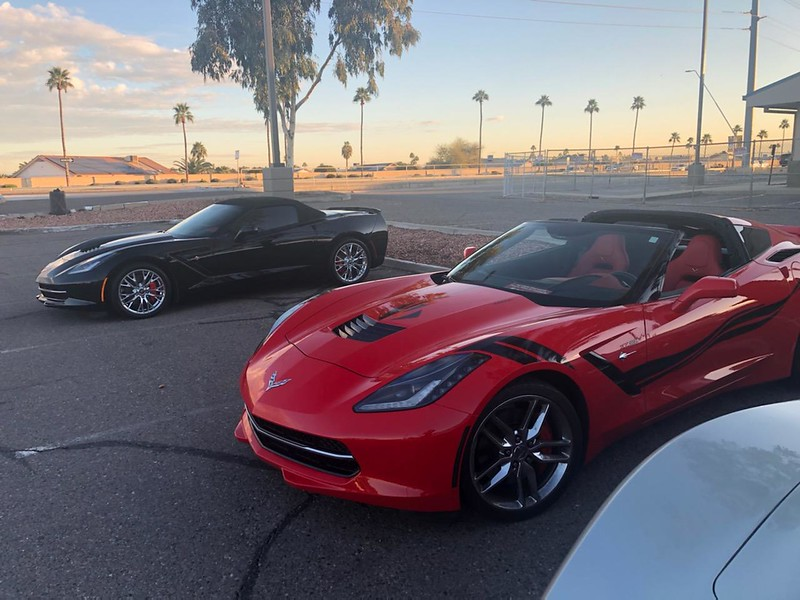 Corvette Breakfast Club - Surprise, AZ - Feb '21