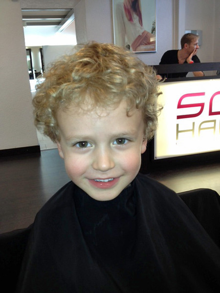 Eliott Before Haircut