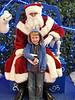 Eliott with Santa