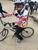 Noa at his BMX club