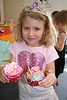 Charlotte's 6th birthday, where they decorated cupcakes.