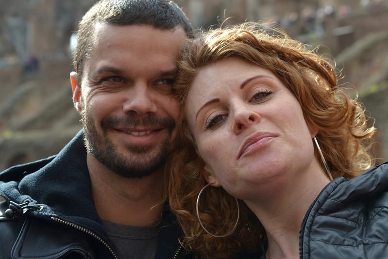 Arnaud and Nadia
