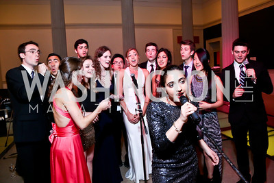 The Georgetown Phantoms. Photo by Tony Powell. Georgetown's 89th Annual Diplomatic Ball. Corcoran Gallery. April 4, 2014