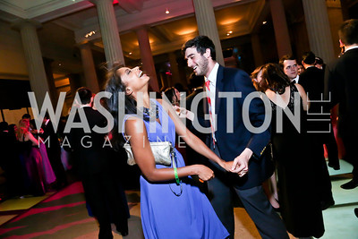 Liana Preudhomme, Tim DeVita. Photo by Tony Powell. Georgetown's 89th Annual Diplomatic Ball. Corcoran Gallery. April 4, 2014