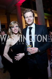 Olivia DeMay, Matt Kroenig. Photo by Tony Powell. Georgetown's 89th Annual Diplomatic Ball. Corcoran Gallery. April 4, 2014