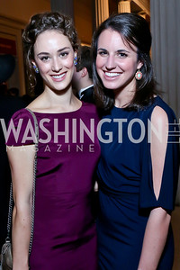 Alena Petrella, Kate Hale. Photo by Tony Powell. Georgetown's 89th Annual Diplomatic Ball. Corcoran Gallery. April 4, 2014