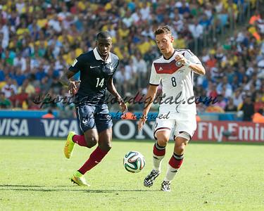 Mesut Ozil, Blaise Matuidi