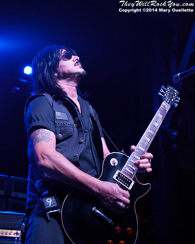 Gilby Clarke performs at teh Casino Ballroom in Hampton Beach NH on July 25, 2015