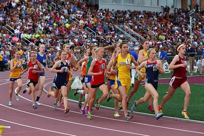 Girls 1600m finals June 8, 2013