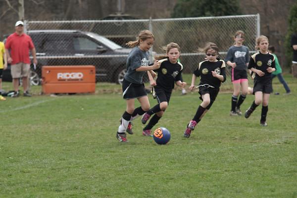 Girls U10 Soccer Spring 2014