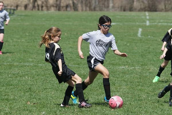 Girls U10 Soccer Spring 2015