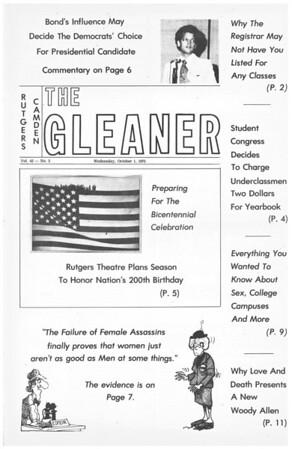 Gleaner 10-01-75