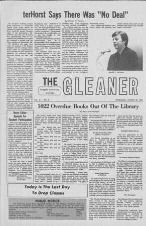 Gleaner 10-30-74