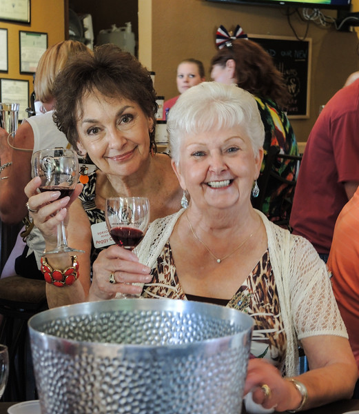 Peggy Crandell and Sally Baggott