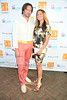Artist Jeff Muhs and Beth McNeill<br /> photo by Rob Rich/SocietyAllure.com copyright 2014<br /> 516-676-3939 robwayne1@aol.com