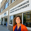 5-23-14   --- Vicki Warner, director of the Tipton County Chamber of Commerce. --<br />   Tim Bath | Kokomo Tribune