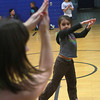 12-6-12<br /> Zumbatomic<br /> 6-year-old Zoie Iceton mimics the Zumbatomics instructor during one of the dances.<br /> KT photo | Kelly Lafferty