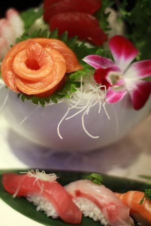 11-13-12<br /> Taku Japanese Steakhouse<br /> Sushi and Sashimi for one<br /> KT photo | Kelly Lafferty