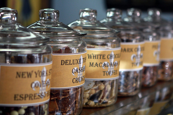 12-10-13<br /> Different assortments of chocolate are on display at J. Edwards Fine Chocolates in Kokomo.<br /> <br /> KT photo   Kelly Lafferty