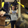 11-15-12<br /> Heartland-TRX class<br /> Brianne Boruff participates in a TRX class at Kokomo's YMCA.<br /> KT photo | Kelly Lafferty