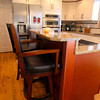 2-6-13 <br /> Kitchen of Stanley and Sandra Markus recently renovated.<br /> A breakfast counter island in the middle of the kitchen.<br /> KT photo | Tim Bath