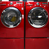 2-7-13<br /> Heartland Kitchen appliances<br /> LG red washer and dryer<br /> KT photo | Kelly Lafferty