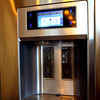 2-5-13 <br /> Kitchen of Rich and Carla Rudicel recently renovated.<br /> A high tech refrigerator with touch screen controls and the ability to upload photos via USB connection to play slideshows through the LCD panel.<br /> KT photo | Tim Bath