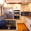 2-6-13 <br /> Kitchen of Stanley and Sandra Markus recently renovated.<br /> A pop up retractable exhaust fan wisks steam and smoke out of the house.<br /> KT photo | Tim Bath