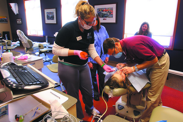 1-28-14   --- Dr Kevin Jerrell - Orthodontist.  -- <br />   KT photo   Tim Bath