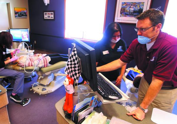 1-28-14   --- Dr Kevin Jerrell - Orthodontist.  -- <br />   KT photo | Tim Bath