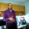3-28-14   --- Dr. Sri Jatla, MD at the St. Joseph Sleep Disorder Clinic.  -- <br />   Tim Bath | Kokomo Tribune