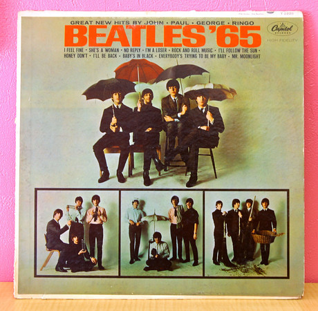 10-10-13  --  Finders Keepers in Peru -  Beatles Album $25<br />   KT photo | Tim Bath