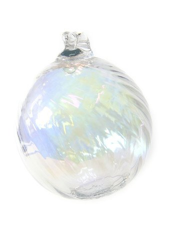10-10-13  --  Kokomo Opalescent glass --  Ornament $24<br />   KT photo | Tim Bath