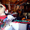 9-18-13<br /> We Care Park lights construction<br /> Part of We Care Park's Christmas decorations in storage on the park's grounds.<br /> KT photo | Kelly Lafferty