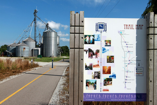 7-23-13<br /> Nickel Plate trail<br /> The Nickel Plate trail runs through Macy, Ind.<br /> KT photo | Kelly Lafferty