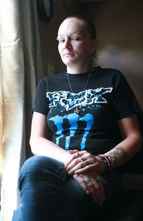 7-25-13<br /> Jennifer Mayfield sits in her grandparents home. <br /> KT photo | Kelly Lafferty