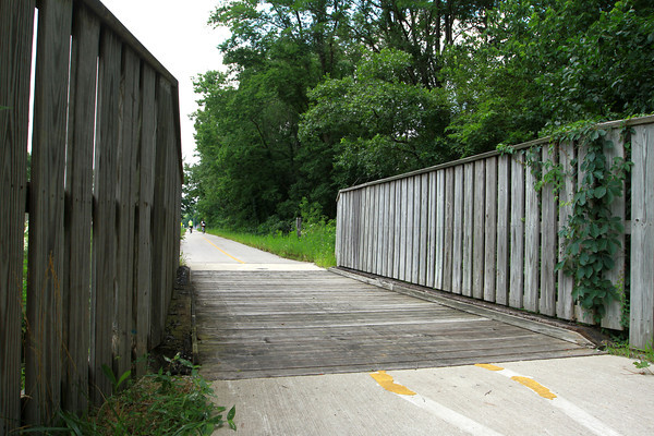 7-23-13<br /> Nickel Plate trail<br /> The first bridge built for the Nickel Plate trail.<br /> KT photo | Kelly Lafferty