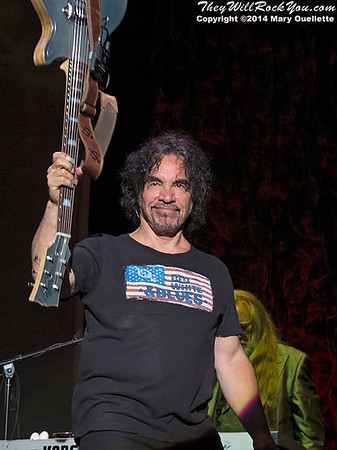 Hall & Oates perform at the Blue Hills Pavillion in Boston MA on June 12, 2014