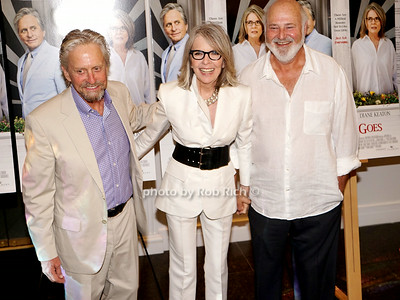 Michael Douglas, Diane Keaton, and Rob Reiner