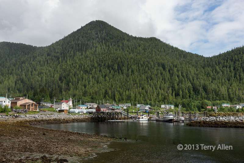 The Gitga'at communlity of Hartley Bay, mid-coast British Columbia