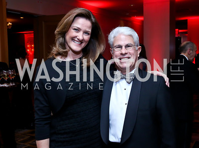 Pam King Sams, Skip Davis. Photo by Tony Powell. Heroes Curing Childhood Cancer Gala. Four Seasons. February 22, 2014