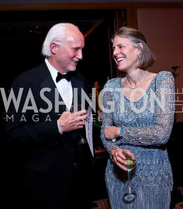 Steve and Josephine Fleming. Photo by Tony Powell. Heroes Curing Childhood Cancer Gala. Four Seasons. February 22, 2014