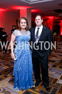 Jennie and Reginald Meyer. Photo by Tony Powell. Heroes Curing Childhood Cancer Gala. Four Seasons. February 22, 2014