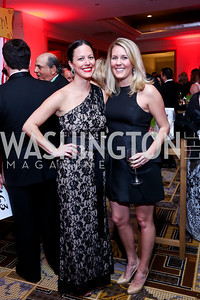 Caitlin Chalke, Ashley Lamade. Photo by Tony Powell. Heroes Curing Childhood Cancer Gala. Four Seasons. February 22, 2014